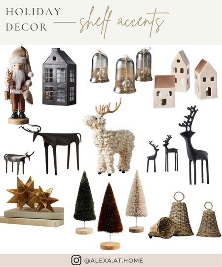 Holiday decor - shelf accents   Christmas shelf decor, shelf styling , holiday shelf decor, shelfie, holiday shelf styling   #LTKSeasonal #LTKHoliday #LTKhome
