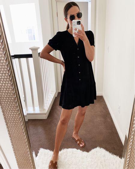 A few sizes left in this flounce dress! So good and on major sale! Wearing a size xs.   #LTKstyletip #LTKunder50 #LTKsalealert