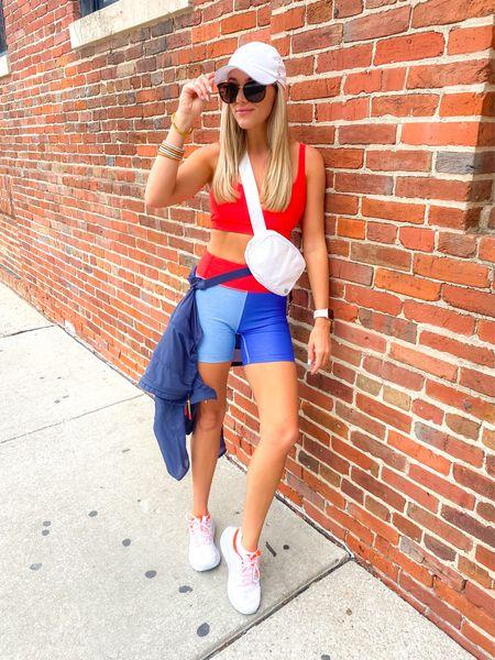 Outdoor Voices Set  Bra: small  Shorts: XS  Jacket: XS    #LTKstyletip #LTKtravel #LTKfit