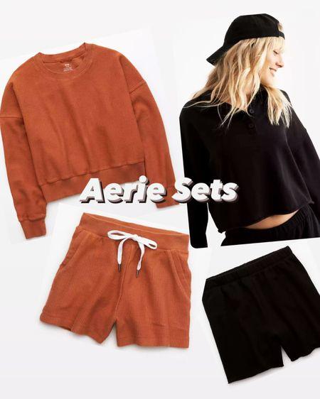 The perfect sets from Aerie, on sale today!🧡🖤 http://liketk.it/39jpm #liketkit @liketoknow.it #LTKSeasonal #LTKhome #LTKsalealert