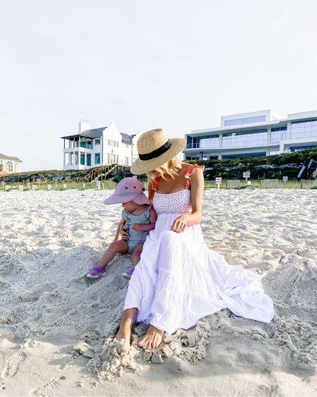 Mommy and Mini beach time http://liketk.it/2Sr3r #liketkit @liketoknow.it #swimsuit #beach #babyswim