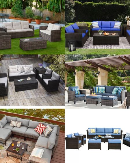 So hard to choose! These are all from Wayfair! #wayfairpatio #patiofurniture http://liketk.it/3aDeN #liketkit @liketoknow.it #StayHomeWithLTK #LTKhome #LTKstyletip @liketoknow.it.home @liketoknow.it.family