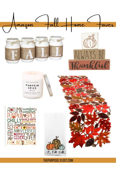 Are you ready for Thanksgiving? Grab a few extra fall home decor pieces from Amazon before the holiday! http://liketk.it/31ODf #liketkit @liketoknow.it
