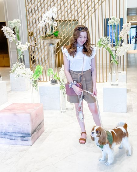 Dog-friendly staycation at the Four Seasons in Montreal ✨   Outfit & dog accessories linked below!   http://liketk.it/3jVMl #liketkit @liketoknow.it #LTKtravel #LTKstyletip