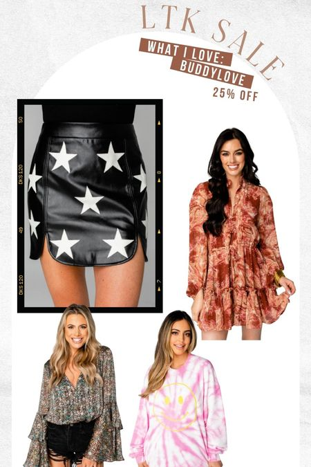 buddylove faves on sale!!! Great fall dresses and game day pieces   #LTKstyletip #LTKsalealert