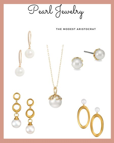 Pearls, pearls, and more pearls!! Shop these timeless classics, http://liketk.it/39oD5 and give your outfit an instant touch of elegance. @liketoknow.it #liketkit