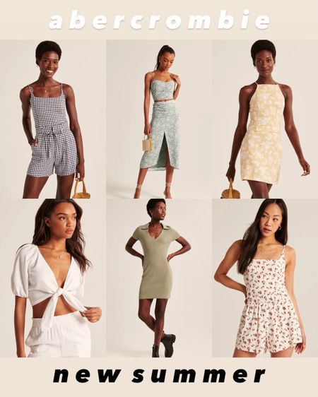 New summer styles including dresses, crop tops, skirts, sets, and rompers! So many cute styles for summer outings for vacation. On sale for LTK day starting tomorrow.   #LTKSeasonal #LTKsalealert #LTKDay