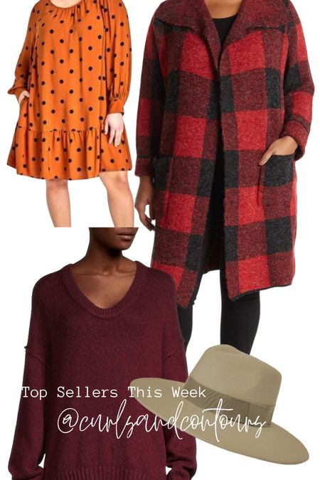 Top sellers this week are taking us right into fall! Love all of these plus size options!   #LTKstyletip #LTKcurves #LTKSeasonal