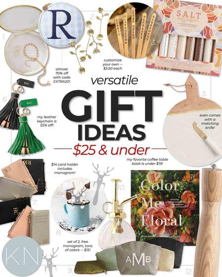 Christmas gift ideas for under $25! Many on sale this weekend! #ltkunder25   #LTKGiftGuide #LTKHoliday #LTKsalealert