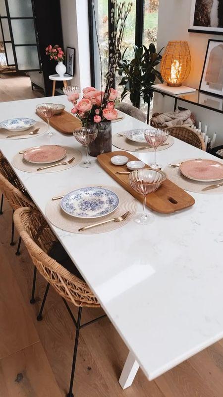 Spring table setting   #LTKeurope #LTKunder50 #LTKhome