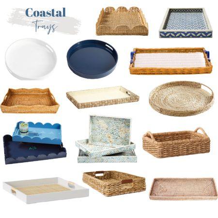 Coastal trays have so many great uses!   #LTKunder100 #LTKhome #LTKstyletip