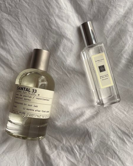 Favorite scents! Santal 33 by Le Labo and Wood Sage and Sea Salt by Jo Malone   2021 perfume   signature scents   best perfumes of the moment   fragrance trends   summer scents   year round staple perfume   female cologne  http://liketk.it/3eFGC @liketoknow.it #liketkit #LTKbeauty #LTKstyletip #LTKworkwear