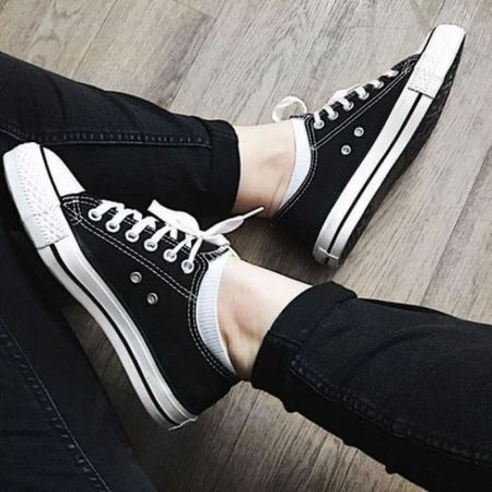 Chuck Taylors all day every day  The perfect shoe for summer!   #LTKunder100 #LTKSeasonal #LTKshoecrush