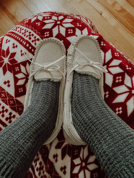 Cosy slippers for Christmas morning or any other chilly winter days!  #StayHomeWithLTK #LTKunder50 #LTKgiftspo