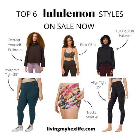 Top 6 lululemon styles on sale now   #LTKsalealert #LTKcurves #LTKfit