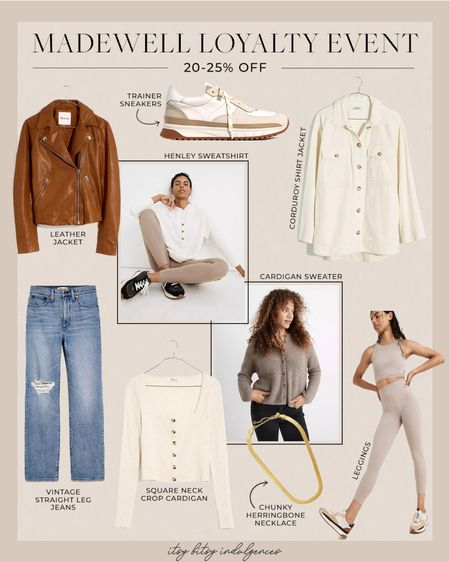Madewell loyalty even, 20-25% off based on insider status (signing up is easy)…. Here are a few items I own and love //   #LTKstyletip #LTKsalealert
