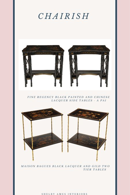 Antique lacquer tables http://liketk.it/3dan2 #liketkit @liketoknow.it Shop your screenshot of this pic with the LIKEtoKNOW.it shopping app