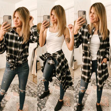 Flannel Plaid Shirts Color: Black and White/TTS/Size, S  #ifounditonamazon #amazonfashion #amazonfinds #outfitoftheday #ootd #outfitideas #outfitinspo #amazonouterwear   http://liketk.it/3pGiB #liketkit @liketoknow.it #LTKbeauty #LTKfit #LTKSeasonal #LTKstyletip
