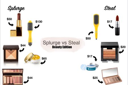 Every Tuesday check back here for my Splurge vs Steal picks! Today is the BEAUTY EDITION 💄 Items are courtesy of the #NordstromSpringSale #LTKbeauty #LTKunder50 #LTKsalealert @liketoknow.it #liketkit http://liketk.it/2MANJ
