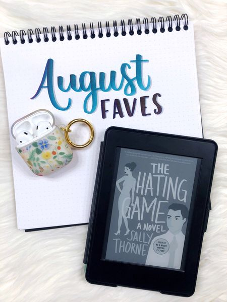 August Favorites: what I'm reading on my Kindle, watching on Netflix, and listening to on Spotify!  Book recs include The Hating Game, The Unhoneymooners, and The Spanish Love Deception  #LTKSeasonal #LTKunder100 #LTKunder50