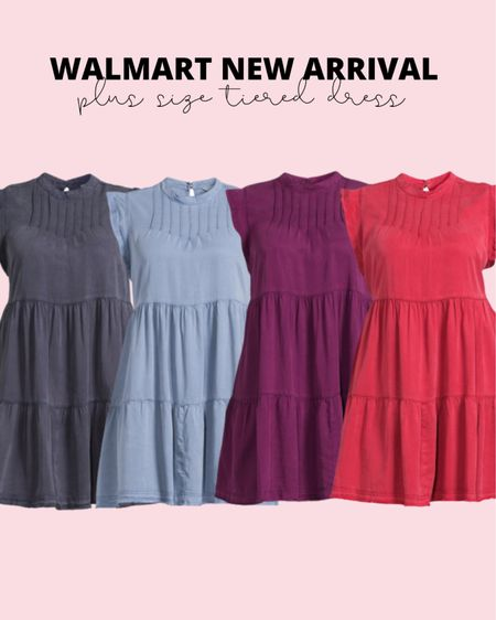 Plus size fashion new arrival! This plus size summer dress is brand new and under $23! Would be so cute as a plus size summer wedding guest dress!   #LTKstyletip #LTKunder50 #LTKcurves