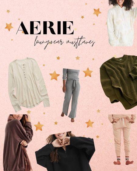 Favorite Loungewear from Aerie! check out a brunetteandablonde.com http://liketk.it/2Yq19 #liketkit @liketoknow.it #LTKsalealert #LTKcurves #LTKstyletip