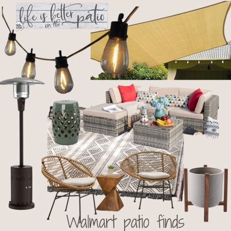 http://liketk.it/3hRr5 #liketkit @liketoknow.it #LTKhome #LTKfamily #LTKstyletip #patioandgarden #patiofinds #dealsfordays #walmartfinds  Make a beautiful oasis this summer!  Create a relaxing patio for you and the family.  Walmart finds 👏🏼👏🏼  Price ranges: $21-$400