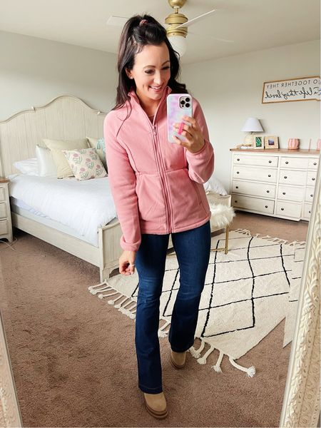 Zip up athletic jacket from Target - runs small - in a medium   #LTKunder50 #LTKstyletip #LTKfit