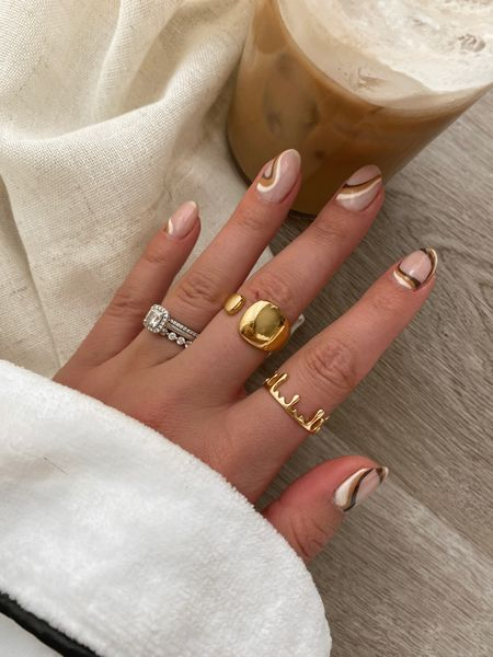 Gold drip ring is everything ⚡️