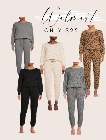Walmart fashion Walmart style Loungewear  Only $25  #LTKHoliday #LTKSeasonal #LTKstyletip