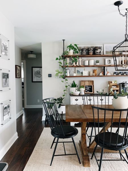 I'll always love how eclectic our dining space is… and the plants that are overflowing    #LTKhome #LTKfamily #LTKunder50