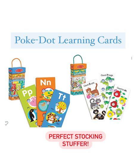 Poke dot Melissa and Doug learning cards! Perfect stocking stuffer! http://liketk.it/33f5t #liketkit @liketoknow.it #LTKgiftspo #LTKbaby #LTKkids