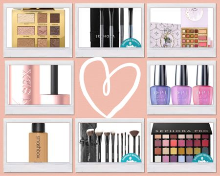 Black Friday deals going on now!!!  Gift or restock all your makeup!  My must haves for eye shadow, and foundation.  Don't forget your make up brushes!  #LTKbeauty #LTKgiftspo #LTKsalealert