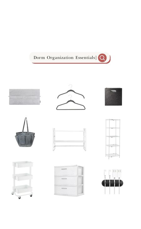 Check out more dorm organization tips on our blog!   #LTKfamily #LTKhome #LTKSeasonal
