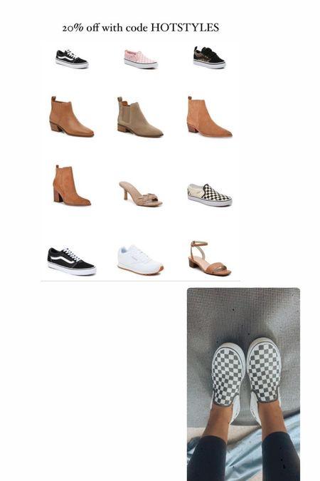 Sale!!! Use code HOTSTYLES for 20% off! Shoes. Sandals. Vans. Heels.   #LTKshoecrush #LTKsalealert #LTKSeasonal