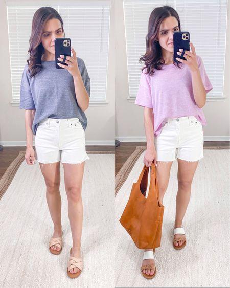 "Abercrombie 4"" Mom shorts (tts) + style outfit idea http://liketk.it/3fMtQ #liketkit @liketoknow.it #LTKstyletip #LTKunder100"