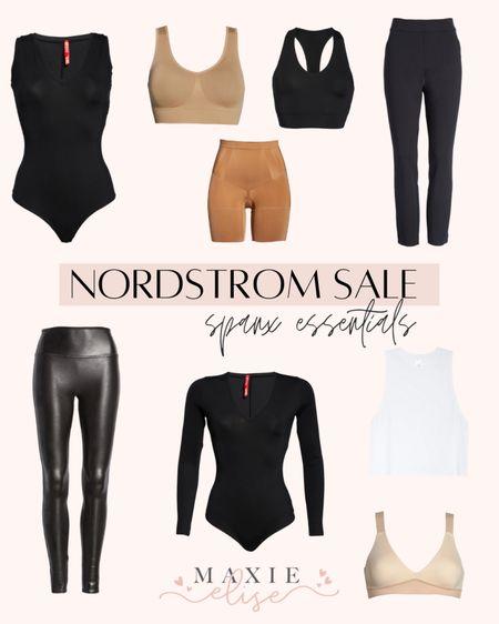Nordstrom Sale Finds - Essentials From Spanx 🙌🏼  #nordstromsale #nordstromanniversarysale #spanx #spanxleggings #spanxfauxleatherleggings #spanxshapewear #spanxbra #nsale #nordstrom #anniversarysale #nordstromfashion  #LTKstyletip #LTKunder100 #LTKsalealert