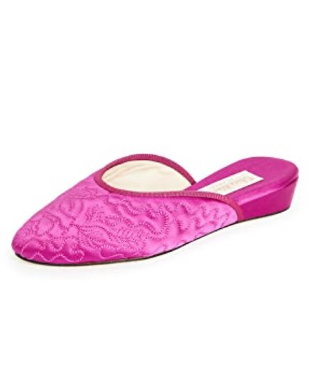 Chic, retro silk slippers are back and make a beautiful present (and hostess gift!). #StayHomeWithLTK #LTKgiftspo #LTKshoecrush http://liketk.it/33Rd4 #liketkit @liketoknow.it