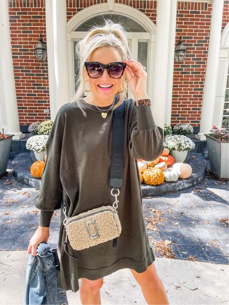 The perfect fall purse and the perfect under $50 sweater dress   #LTKstyletip #LTKSeasonal #LTKunder50