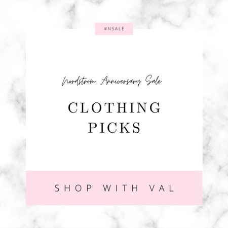 From denim to blouses to skirts to sweaters these are my top clothing picks from the Nordstrom Anniversary Sale.  #LTKsalealert #LTKunder100  #LTKworkwear