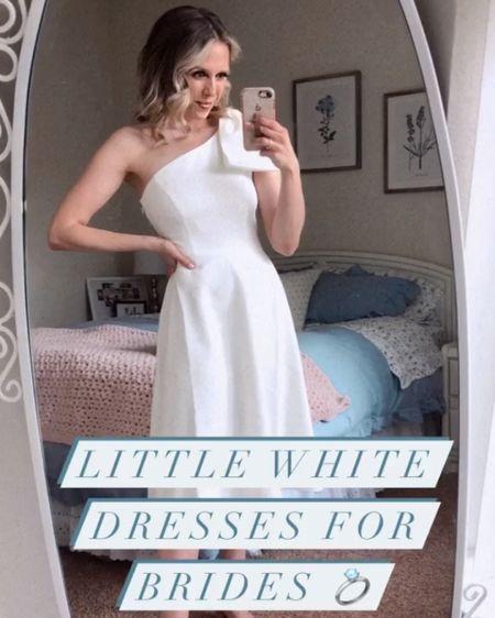 white dresses for brides 💍✨ #bridetobe http://liketk.it/3fg22 #liketkit @liketoknow.it #LTKwedding #LTKunder100 #LTKstyletip