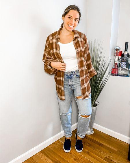 Fall flannels!  Shop my daily looks by following me on the LIKEtoKNOW.it shopping app #liketkit @liketoknow.it http://liketk.it/2WOsC