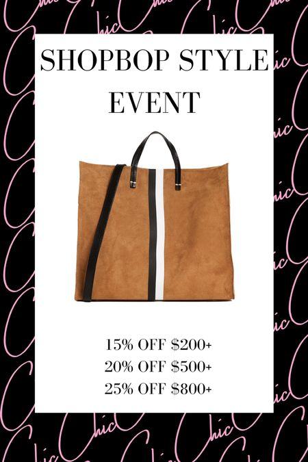 Shopbop Style Event  #LTKitbag #LTKstyletip #LTKsalealert