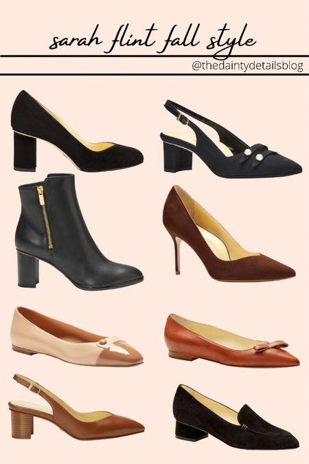 Sarah Flint shoes I'm loving for fall! Use my code SARAHFLINT-BACAREYS for $50 off your first pair!   #LTKHoliday #LTKSeasonal #LTKshoecrush