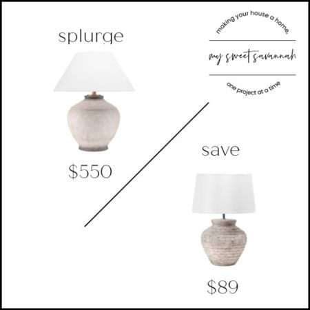 Loving both of these lamps! This dupe is great if you want to save, or do you want the Mcgee and co one? Which one do you prefer?   #LTKsalealert #LTKhome #LTKstyletip