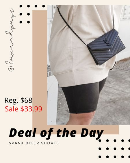 Faux leather Bike shorts under $35! http://liketk.it/3iOny @liketoknow.it #liketkit #LTKcurves #LTKsalealert #LTKunder50