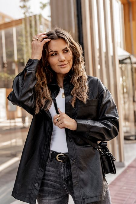 Leather or Denim?!? Which one are you wearing this fall?  Get 15% off @shopbohme with code: kristinrose15   #LTKunder100 #LTKstyletip #LTKSeasonal