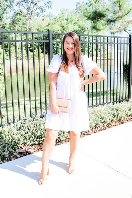 Who's ready for a white hot summer? I am loving a white dress for summer and I found this steal of a dress for under $30!    #LTKunder50 #LTKSeasonal #LTKsalealert
