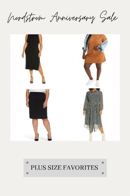 A few #nsale favorite skirts and dresses that our plus size clients are loving! 💗   #LTKcurves #LTKsalealert #LTKunder100