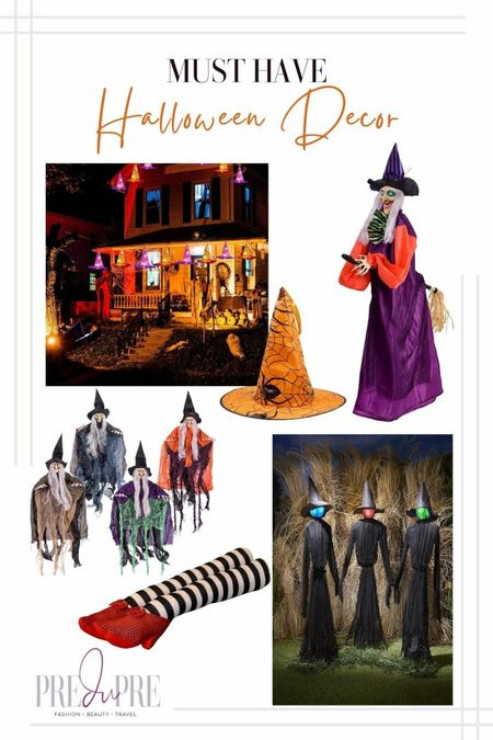 Haven't decorated for Halloween yet? I got you. Check out these great Amazon and Target find. Perfect for the spooky holiday.  Halloween, fall outdoor decor, outdoor decor, Halloween decor, Halloween fun, witch decor, witches, witchy decor   #LTKHoliday #LTKSeasonal #LTKhome